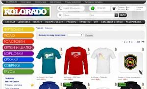 Партнёрская программа интернет-магазина KOLORADO